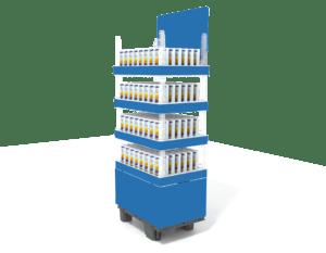 Mehrwegverpackung-Display