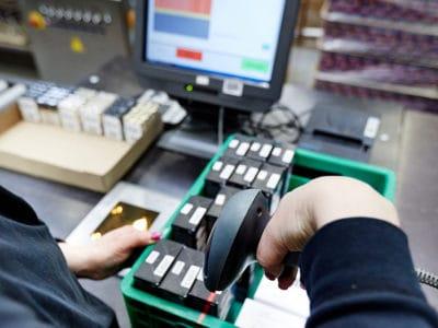Logistics-Services Chargenverfolgung