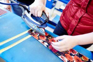 Textilservice bügeln