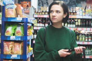 Verkaufsdisplays Supermarkt