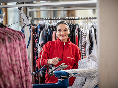 Service textile
