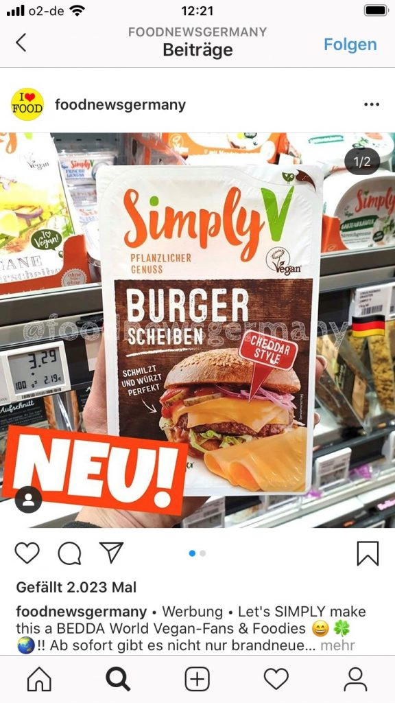 foodnewsgermany Burger-Käse