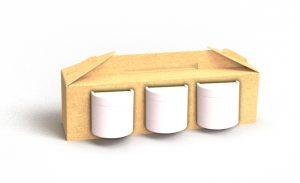 Nachhaltige Verpackung Materialeinsparung Stanzung